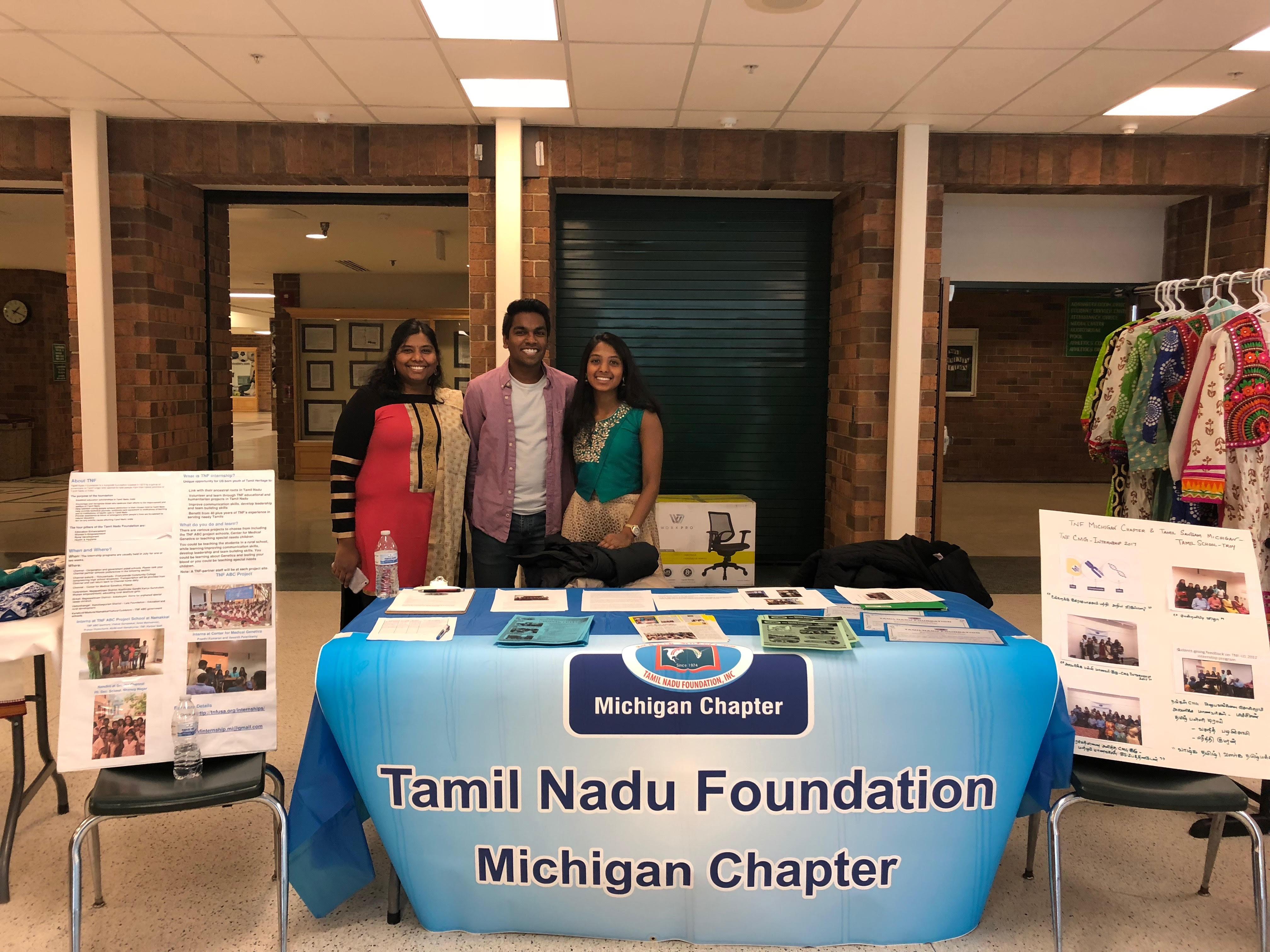 TNF Interns in Tamil Nadu